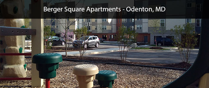 This is a photo of Berger Square Apartments in Odenton, MD