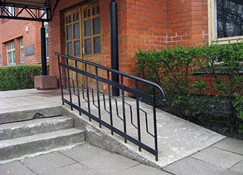Section 811 PRA multifamily property with wheelchair access