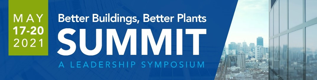 Better Buildings, Better Plants 2021 Summit graphic