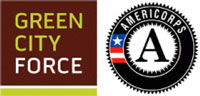 Green City Force and Americorps logos