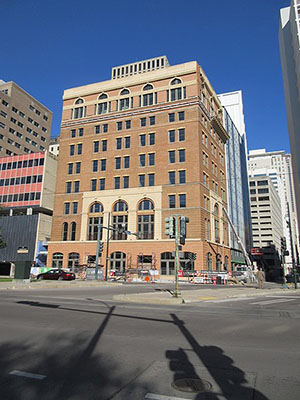 Pythian building in downtown New Orleans