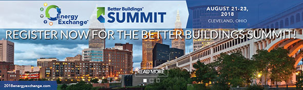 Register Now for the Better Buildings Summit, August 21-23, 2018