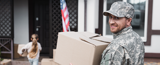 Service member moving into house with daughter
