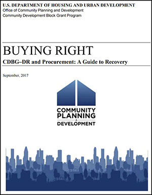 Buying Right CDBG-DR and Procurement: A Guide to Recovery