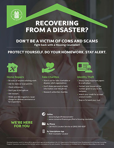 Don't be a Victim of Cons and Scams