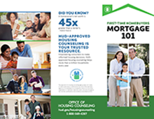 First-Time Homebuyers Mortgage 101