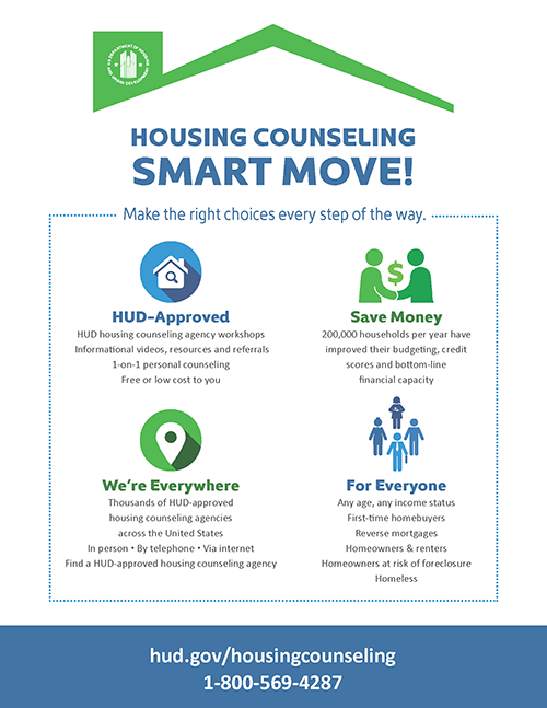 Housing Counseling: Smart Move! Poster