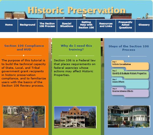 Historic Preservation Tutorial
