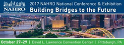 NAHRO logo. 2017 NAHRO National Conference & Exhibition: Building Bridges to the Future