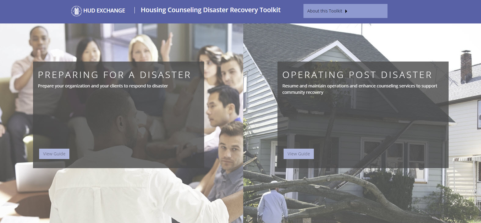 Housing Counseling Disaster Recovery Toolkit