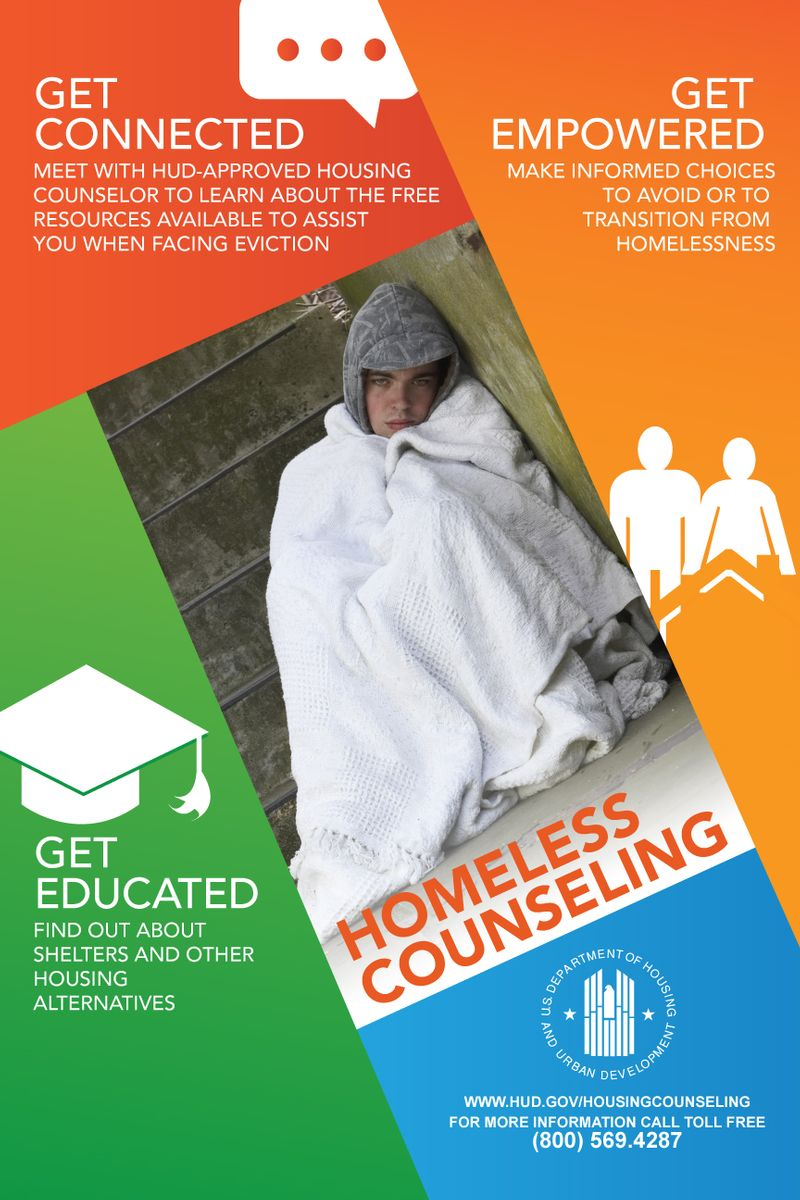 Homeless Counseling Flyer