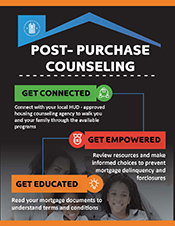 Post Purchase Counseling Flyer