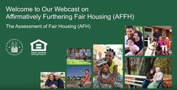 Overview of the Assessment of Fair Housing Webcast