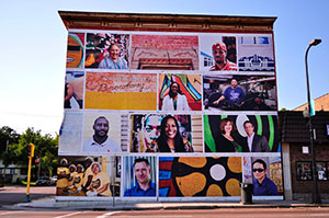 Minneapolis Promise Zone mural