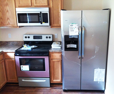 Energy efficient appliances in an HDA home