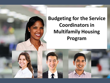 Budgeting for SCMF Housing Program