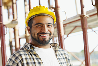 Man in a hard-hat