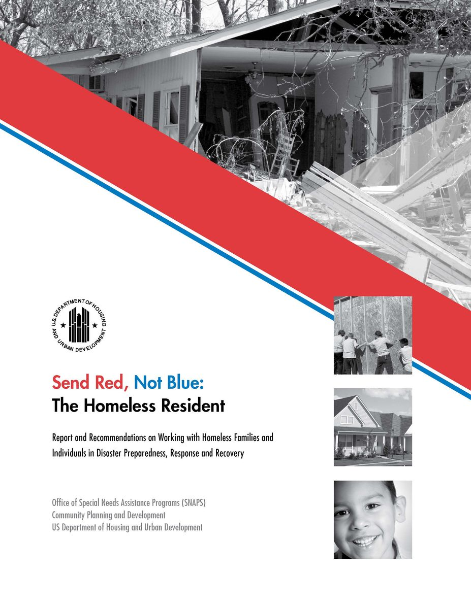 Send Red, Not Blue report cover