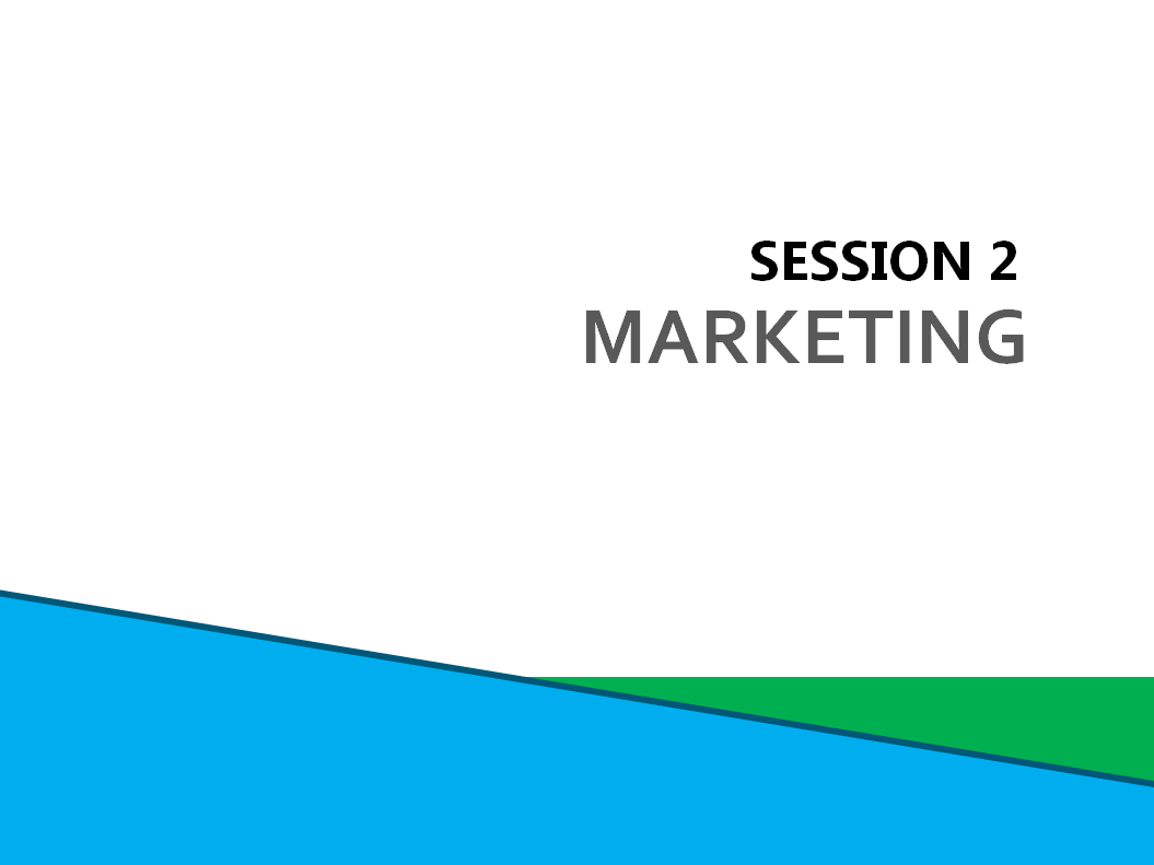 Session 2: Marketing screenshot