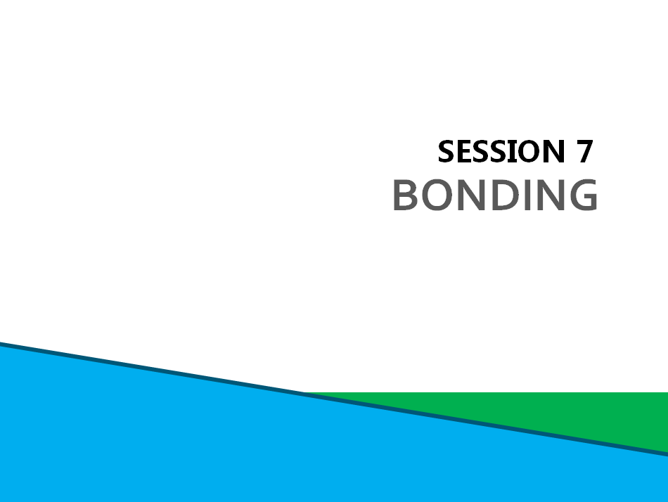 Session 7: Bonding Screenshot