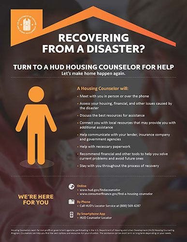 Turn to a HUD Housing Counselor for Help